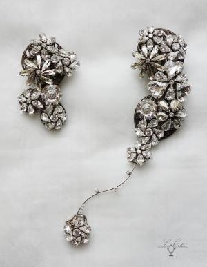 ルコリエのビーズアクセサリー ネックレス 飾りショートナー