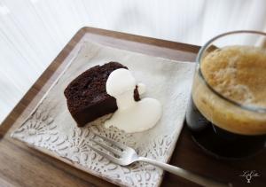 ルコリエのビーズアクセサリー パウンドケーキ