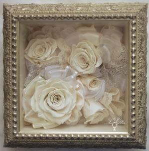 ルコリエのビーズアクセサリー バラ 薔薇